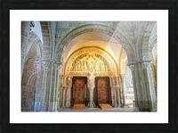 Basilica of Sainte Marie Madeleine 3 of 5 @  Vezelay France Picture Frame print