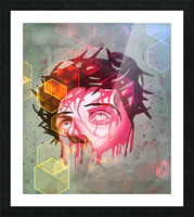 jesus 1 Picture Frame print