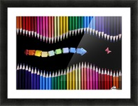 The Snake Game by Victoria Ivanova  Picture Frame print