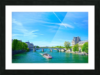 Paris Snapshot in Time 6 of 8 Picture Frame print
