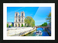 Paris Snapshot in Time 8 of 8 Picture Frame print