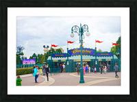 Paris Disneyland 1 of 4 Picture Frame print