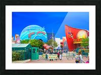 Paris Disneyland 2 of 4 Picture Frame print