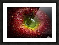 Red Apple Picture Frame print