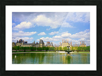 Chateaus of France 4 Picture Frame print