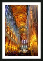 Jeanne d Arc and Saint Croix Cathedral at Orleans   France 2 of 7 Picture Frame print