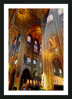 Jeanne d Arc and Saint Croix Cathedral at Orleans   France 3 of 7 Picture Frame print