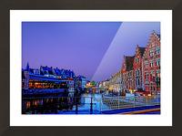 Wondrous Belgium Picture Frame print
