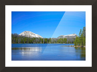 Mirror Lake Picture Frame print