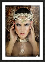 Quelia by DDiArte   Picture Frame print