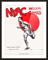 1941 New York Indoor Games Picture Frame print