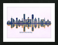 Yekaterinburg Skyline Picture Frame print