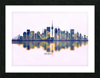 Xian Skyline Picture Frame print