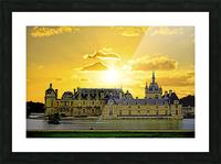 Chateau de Fontainebleau Picture Frame print
