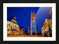 Beautiful Belgium 2 of 7 Picture Frame print