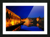 Beautiful Belgium 5 of 7 Picture Frame print