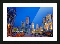 Beautiful Belgium 1 of 7 Picture Frame print