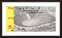 1968 UCLA vs. USC Picture Frame print
