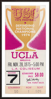 1975 UCLA vs. USC Picture Frame print