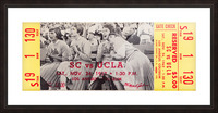 1962 USC vs. UCLA Picture Frame print