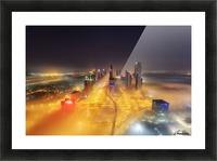 Fog Invasion Picture Frame print