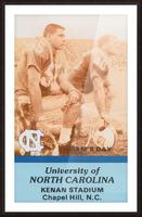 1988 North Carolina Picture Frame print