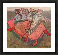 Russian Dancers by Degas Picture Frame print