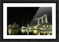 Night in the City by hardibudi   Picture Frame print
