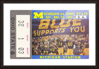 1985 Michigan vs. Ohio State Picture Frame print