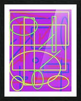The matrix  Picture Frame print