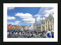 Passport to Belgium 1 of 5 Picture Frame print