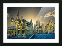 Passport to Belgium 2 of 5 Picture Frame print