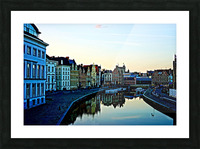 Passport to Belgium 4 of 5 Picture Frame print