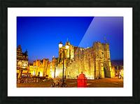 Passport to Belgium 5 of 5 Picture Frame print