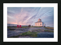 Cape Spear Sunrise Picture Frame print