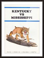 1969 Kentucky vs. Mississippi Picture Frame print