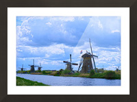 Windmills of the Netherlands 1 of 4 Picture Frame print