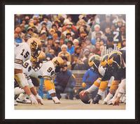 Purdue Football Art Picture Frame print