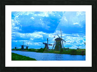I Dreamed of Windmills Picture Frame print