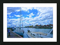 Inland Harbor Netherlands 2 of 5 Picture Frame print