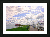 Inland Harbor Netherlands 3 of 5 Picture Frame print