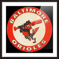 1960s Baltimore Orioles Art Picture Frame print