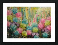 Flower Candy  Picture Frame print
