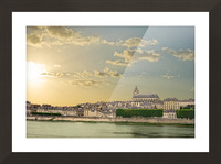 Blois and Cathedrale Saint Louis Across the Loire Picture Frame print