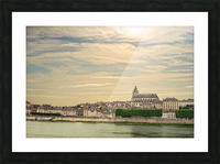 Cathedrale Saint Louis Across the Loire Picture Frame print