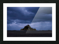A Day at Mont Saint Michel 12 of 12 Picture Frame print