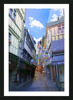 A Day at Mont Saint Michel 3 of 12 Picture Frame print