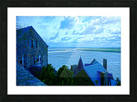 A Day at Mont Saint Michel 11 of 12 Picture Frame print