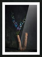 Fleur doiseau Picture Frame print