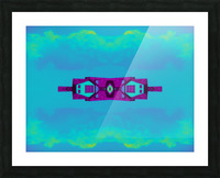 Portal  97  Picture Frame print